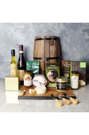 Delicious Gathering Wine & Cheese Gift Set