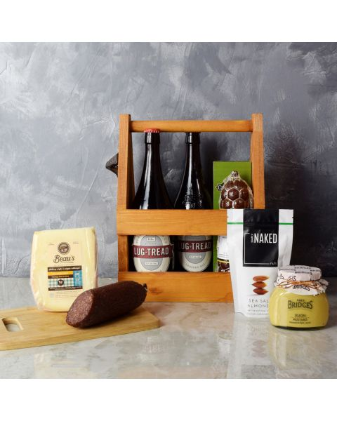 Meat, Cheese & Beer Gift Set